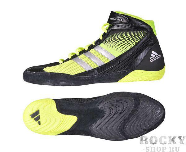 Купить Борцовки Response 3.1 Adidas черно-желтые (арт. 5067)