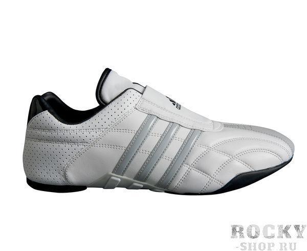 Купить Степки для тхэквондо Adi-Lux Adidas бело-серые (арт. 5068)