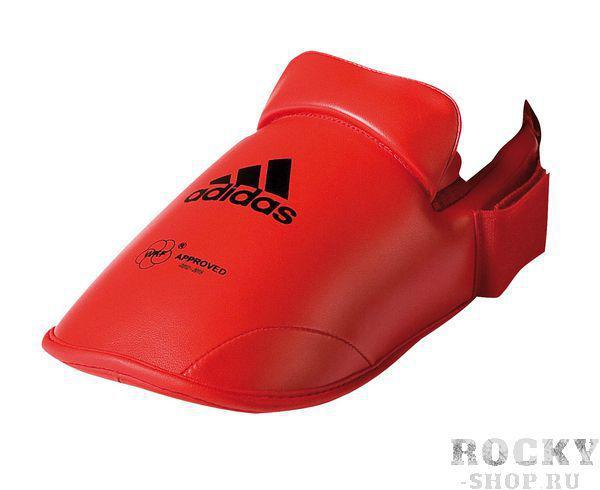Купить Защита стопы WKF Foot Protector Adidas красная (арт. 5078)