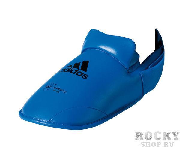 Купить Защита стопы WKF Foot Protector Adidas синяя (арт. 5079)