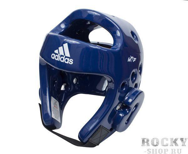 Купить Шлем для тхэквондо Head Guard Dip Foam WTF Adidas синий (арт. 5090)