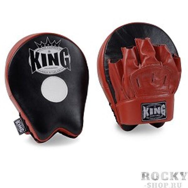 Лапы стандартные, Черный/красный, Размер O/S KingЛапы и макивары<br>Плотный наполнитель<br> Дышащая перчатка<br> Материал - 100% кожа<br> Плотно сидит на руке<br> 2 штуки в упаковке<br>