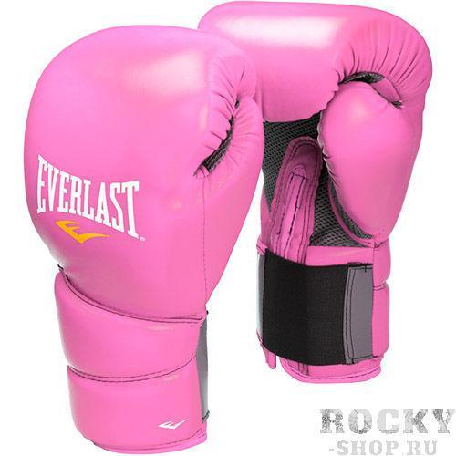 Купить Перчатки боксерские Everlast Protex2, розовые 12 oz (арт. 5177)