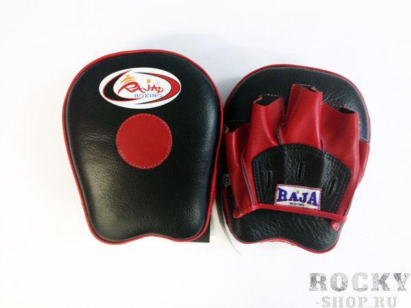 Боксёрские лапы, Размер O/S, черный/красный RajaЛапы и макивары<br>Cделаны из 100% кожи. <br><br>натуральная воловья кожа<br>сшиты вручную<br>для профессиональной отработки ударов<br>сделано в Тайланде<br>