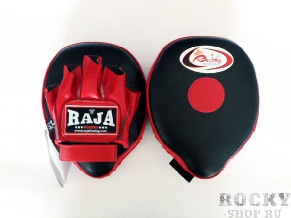 Купить Боксёрские лапы Raja размер o/s черный/красный (арт. 521)