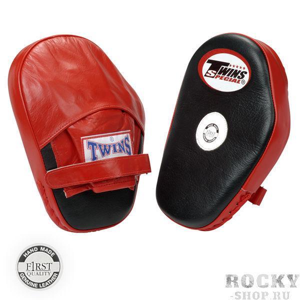 Боксерские лапы стандартные Twins SpecialЛапы и макивары<br>Изготовлены индивидуально из 100% кожи<br> Специально сконструированы для предельной безопасности (закрытые пальцы и тыльная сторона запястья<br> Устойчивы на руке (надежная фиксирование на липучке)<br>