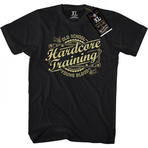 Футболка Hardcore Training Retro (арт. 5334)  - купить со скидкой