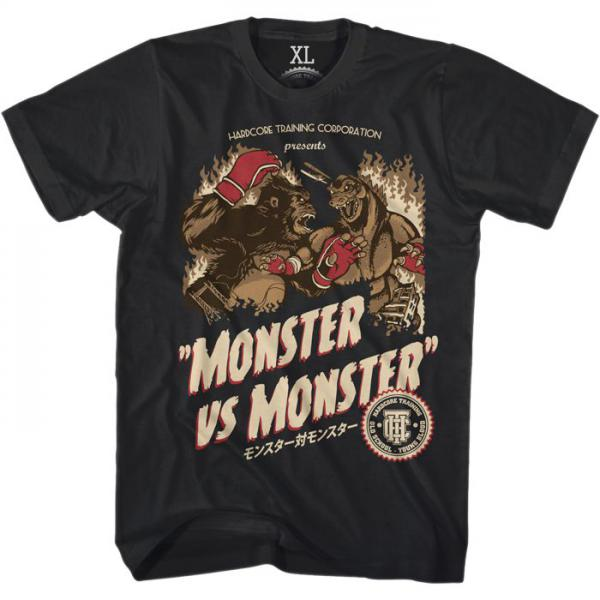 Футболка Hardcore Training Monster vs (арт. 5351)  - купить со скидкой