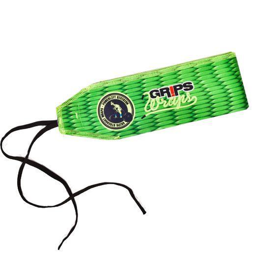 Бинты для запястий Grips Green Gecko Grips AthleticsАксессуары для фитнеса<br>Бинты для запястий Grips Green Gecko. Предназначены для предупреждения травм лучезапястных суставов во время тренировок. Бинты для кистей можно использовать при работе со штангой, гирей, брусьях, турниках и т. д. Продаются парой.<br>