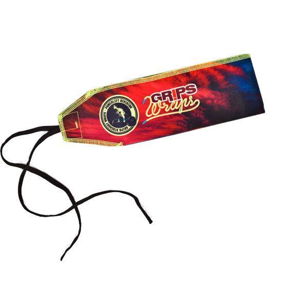 Бинты для запястий Grips Power Rainbow Grips AthleticsАксессуары для фитнеса<br>Бинты для запястий Grips Power Rainbow. Предназначены для предупреждения травм лучезапястных суставов во время тренировок. Бинты для кистей можно использовать при работе со штангой, гирей, брусьях, турниках и т. д. Продаются парой.<br>