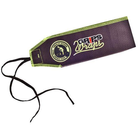 Бинты для запястий Grips Carbon Fluo Grips AthleticsАксессуары для фитнеса<br>Бинты для запястий Grips Carbon Fluo. Предназначены для предупреждения травм лучезапястных суставов во время тренировок. Бинты для кистей можно использовать при работе со штангой, гирей, брусьях, турниках и т. д. Продаются парой.<br>