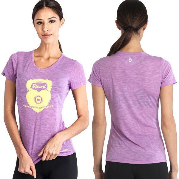 Женская футболка Grips Kettleheart Athletics (арт. 5431)  - купить со скидкой