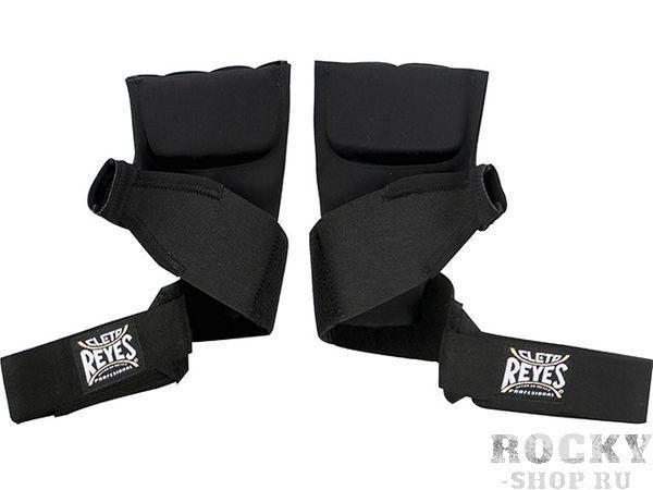 Боксерские бинты Cleto Reyes гелевые, Размер M, Чёрный Cleto ReyesБоксерские бинты<br>Новые технологии производства<br> Удобные в использовании<br> Обеспечивают идиальную защиту рук во в ходе занятий спортом<br> Материал - хлопок и неопрен<br>