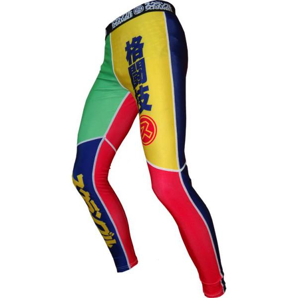 Компрессионные штаны Scramble Rainbow Spats (арт. 5542)  - купить со скидкой
