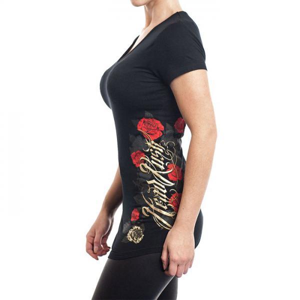 Женская футболка Headrush Gold_n Roses (арт. 5579)  - купить со скидкой