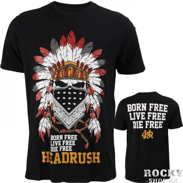 Футболка Headrush Born Free