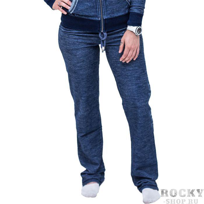 Женские спортивные штаны headrush HeadrushСпортивные штаны и шорты<br>Женские спортивные штаны headrush indigo. Мягкие штаны, очень приятные на ощупь. Хорошо удерживаются на поясе с помощью шнурка и широкой резинки. состав: 95% хлопок, 5% эластан. Уход: машинная стирка в холодной воде, не отбеливать.<br><br>Размер INT: M