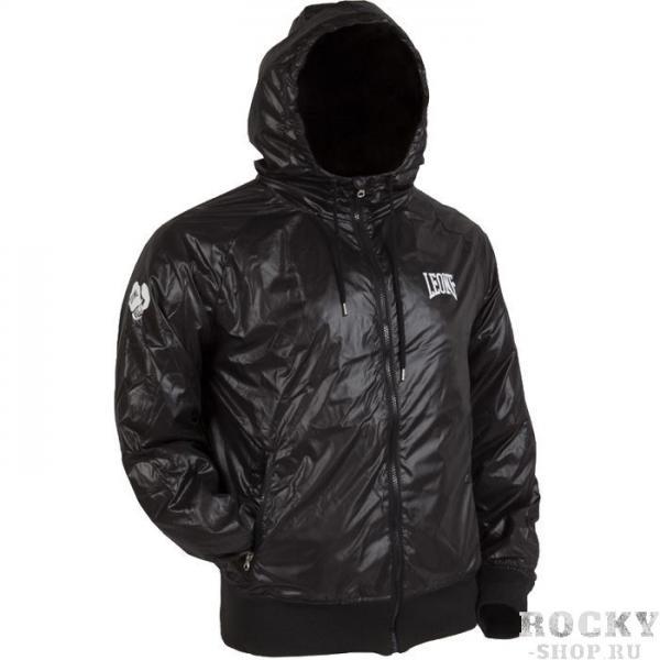 Ветровка Leone LeoneКуртки / ветровки<br>Ветровка Leone. Непродуваемая куртка с капюшоном Leone. Выполнена из полиэстера. Имеет приятный дизайн, красивый и аккуратный внешний вид. Застёгивается на молнию.<br><br>Размер INT: S