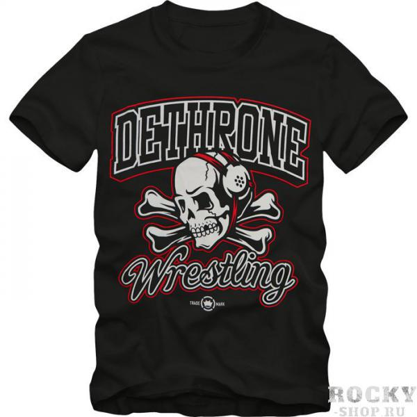 Футболка dethrone wrestling faithful