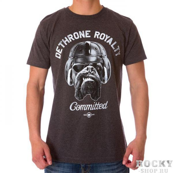 Футболка dethrone committed dog