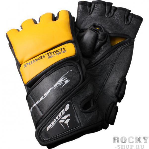 МMA перчатки PunchTown Tenebrae PunchTownПерчатки MMA<br>МMA перчатки PunchTown Tenebrae.Перчатки для безопасных хардкорных тренировок!Качество, защита и комфорт! Если эти слова что-то значат для вас, то эти перчатки - ваш выбор.Прочная конструкция с дополнительной защитой кулака поможет вам избежать травм как при нанесении ударов так и при блокировании.Благодаря коже самого высокого качества эти перчатки не просто выглядят отлично, они продолжат также выглядеть и через год.Новая застежка BOA-TITE 2 отлично фиксирует кисть и не мешает и в стойке, и в борьбе.Если вы ищете новые перчатки для тренировок, они ждут вас.-Доступны 4 размера;-Вес 8 унций;-Система фиксации BOA_TITE2 (две независимые разнонаправленные застежки);-Защита большого пальца;-Кожа премиум класса в винтажном исполнении;-Премиум материалы для комфорта и надежности;-Доступны в черном,белом,красном и золотом цвете.<br>