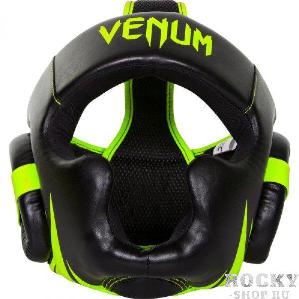 Купить Шлем боксерский Venum Challenger 2.0 - Neo Yellow/Black (арт. 6251)