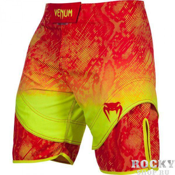 Купить Шорты ММА Venum Fusion Fightshorts - Orange Yellow (арт. 6286)