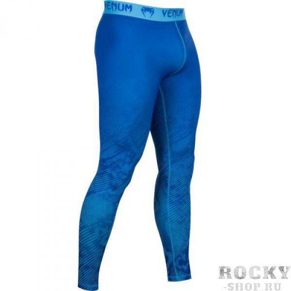 Компрессионные штаны Venum Fusion Compression Spats - Blue VenumКомпрессионные штаны / шорты<br>В компрессионных шортах Venum FusionCompression Spats - Blueприменяется технологияDry Tech, которая эффективно выводит влагу, а также уникальная компрессионная технология, позволяющая вывести мышцы на максимально эффективный уровень. Эластичный материал привносит высочайший уровень комфорта, не нарушая естественность Ваших движений. Особенности:- Уникальная компрессионная технология Venum- Ткань тянется в 4-х направлениях- Dry Tech- Супер-мягкий и прочный материал- Серия Venum Performance<br><br>Размер INT: L