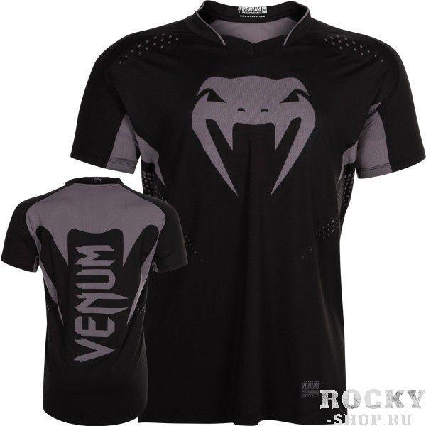 Купить Футболка Venum Hurricane X-Fit Black/Matte (арт. 6294)