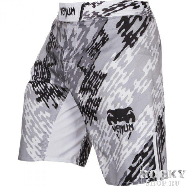 Купить Шорты ММА Venum Neo Camo Fightshorts White/Black (арт. 6303)