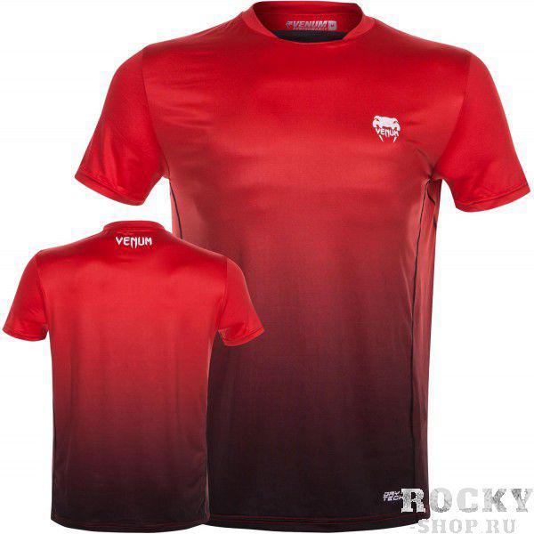 Футболка Venum Contender Dry Tech T-Shirt - Red VenumФутболки<br>Футболка Venum Contender Dry Tech T-Shirt -Redсоздана для того, чтобы помочь Вам преодолет свои пределы. Ткань тянется в четырех направлениях и обеспечивает максимальную естественность и свободу движений. Технология Dry Tech выводит влагу, которая быстро испаряется, оставляя футболку сухой. Выйдите за предел собственных возможностей: Вы можете больше, чем Вам кажется. Особенности:X-Fit - ультра-легкая смесь полиестера и спандекса, тянущаяся в четырх направлениях, что дает максимальную свободу движенийТермошвы для максимального комфортаТехнология Dry Tech - оставляет Вас сухимСетчатые панели для оптимальной вентиляции<br><br>Размер INT: XXL