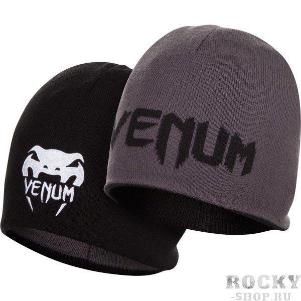 Купить Шапка Venum Reverso - Black/Grey Grey/Black (арт. 6316)