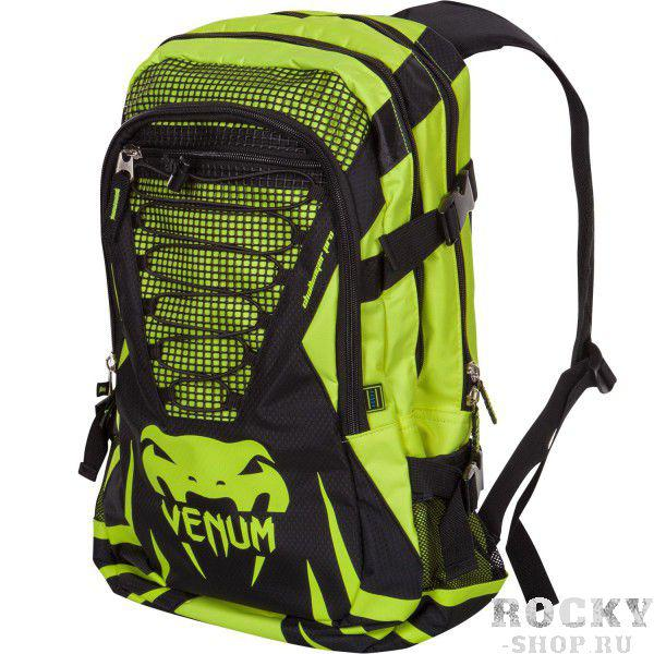 Купить Рюкзак Venum Challenger Pro Backpack - Black/Yellow (арт. 6322)