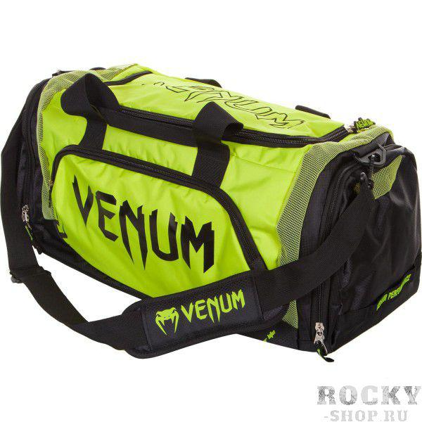 Купить Сумка Venum Trainer Lite Sport Bag - Black/Yellow (арт. 6324)