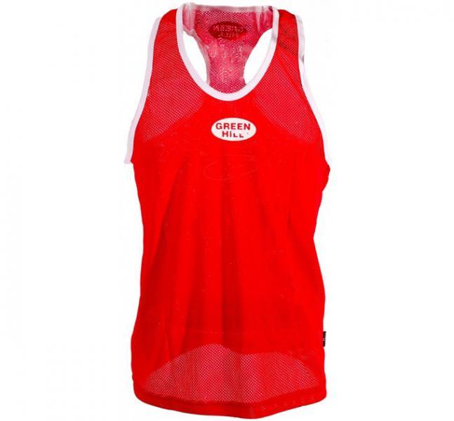 Майка боксёрская club, Красный Green HillБоксерские майки<br>100% полиэстер<br> Разнообразие расцветок и размеров<br> Классический крой<br><br>Размер INT: XXL