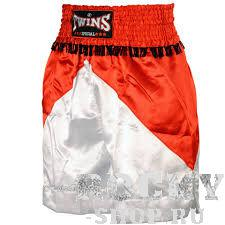 Боксерские шорты Twins Special, Красный/черный Twins SpecialШорты для бокса<br>Подходят для занятий спортом по боксу, ММА и тайскому боксу<br> Обладают яркой привлекательной раскраской<br> Не сковывают движения<br> Материал - сатин<br><br>Размер INT: Размер M