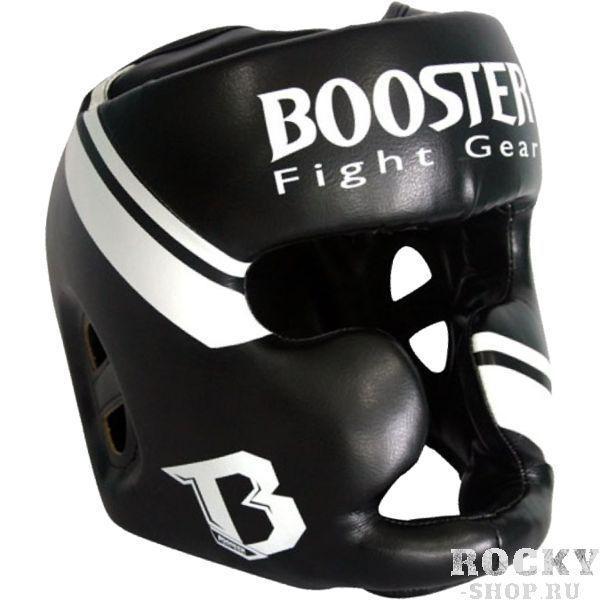 Шлем боксерский Booster BoosterБоксерские шлемы<br>Шлем боксерский Booster. Специальный наполнитель (пена) обеспечивает максимальную амортизацию при ударе, а соответсвенно защищает лицо(голову). Помимо защиты самой головы, шлем также защищает подбородок, щеки и уши.<br><br>Размер: M