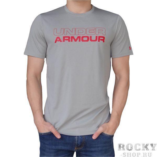 Тренировочная футболка Under Armour Under ArmourФутболки / Майки / Поло<br>Тренировочная футболка Under Armour. Тренировочная футболка выполнена на основе последних технологических достижений. Стретчевый материал не сковывает движения и обеспечивает комфорт во время тренировок любого уровня интенсивности. Неважно, какая погода на улице – она не помешает Вам сфокусироваться на тренировке. Отлично подойдет для тренировок такими видами спорта как: кроссфит, бокс, муай тай, работа с железом и т. д. . Свободный крой. Состав: 100% полиэстер.<br><br>Размер INT: S