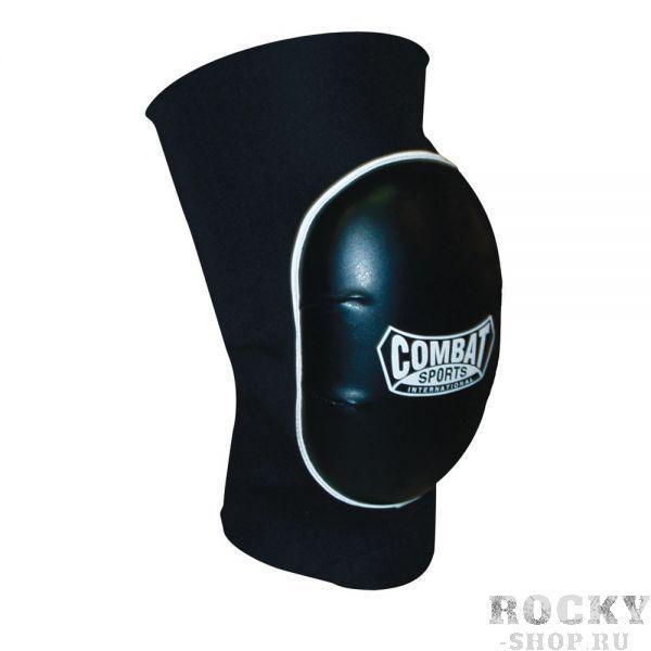 Наколенники, Чёрный CombatЗащита тела<br>Хорошая защита вследствие большому слою пены<br> Удобная вид выполненная из неопрена<br> 2 штуки в упаковке<br><br>Размер: Размер L