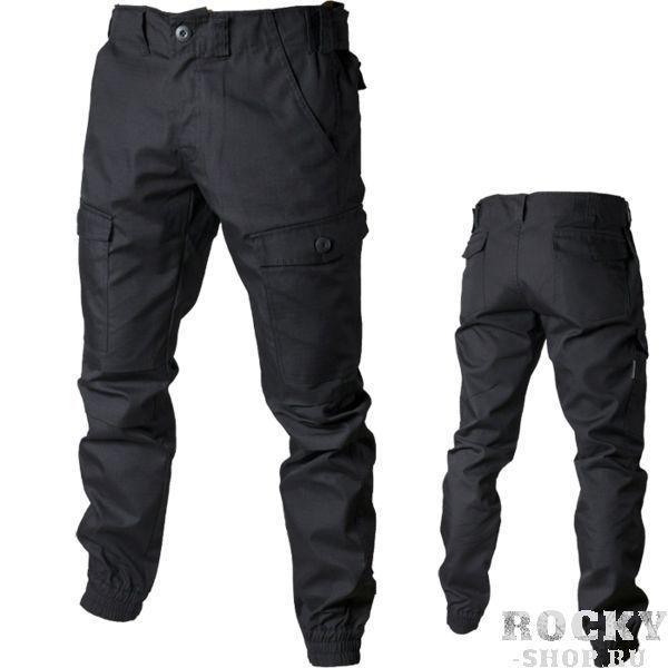 Штаны-карго Варгградъ ВаргградСпортивные штаны и шорты<br>Штаны-карго Варгградъ. - удобный регулятор объёма талии на поясе. - зауженный крой. - резинка-манжет. - 6 карманов. Уход: Машинная стирка в холодной воде, деликатный отжим, не отбеливать!<br><br>Размер INT: S/164
