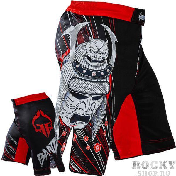 Купить ММА шорты Ground Game Samurai Black (арт. 6775)