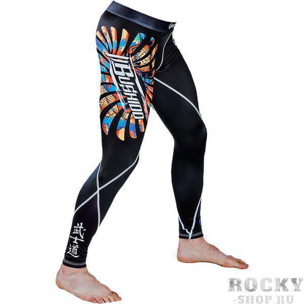 Компрессионные штаны Ground Game Bushido Ground GameКомпрессионные штаны / шорты<br>Компрессионные штаны Ground Game Bushido. Леггинсы Ground Game предназначены для грепплинга, MMA(смешанных единоборств), кроссфита, бега. Также надеваются как дополнительная защита под штаны от ги или шорты. Компрессия этих штанов способствует кровотоку, тем самым повышается мышечная производительность. Штаны защитят вас от мелких травм, таких как царапины, ссадины, ожоги при работе на матах. Также леггинсы защищают от микробов. Компрессионные штаны Ground Game сделаны из смеси спандекса и полиэстера. Ткань достаточно прочная и быстросохнущая, что позволит вам использовать леггинсы регулярно. Уход: Машинная стирка в холодной воде, деликатный отжим, не отбеливать!<br><br>Размер INT: XL