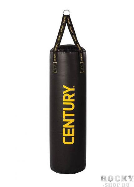 Мешок подвесной Century BRAVE, 32 кг CenturyСнаряды для бокса<br>Вес - 32кг (диаметр - 33см, высота – 102см)   Идеален для тренировокНаполнитель специально разработан компанией CENTURYСверхпрочное виниловое покрытие, устойчивое к ударам и деформацииПроизводство - США<br>