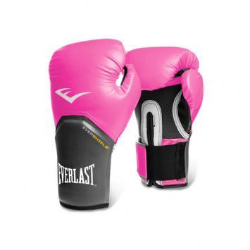 Перчатки боксерские Everlast Pro Style Elite розовые, 10 унций EverlastБоксерские перчатки<br>Everlast Pro Style Elite Training Gloves — тренировочные боксёрские перчатки для спаррингов и работы на снарядах.Изготовлены из качественной искусственной кожи с применением технологий Everlast, использующихся в экипировке профессиональных спортсменов.Благодаря выверенной анатомической форме перчатки надёжно фиксируют руку и гарантируют защиту от травм. Нижняя часть, полностью изготовленная из сетчатого материала, обеспечивает циркуляцию воздуха и препятствует образованию влаги, а также неприятного запаха за счёт антибактериальной пропитки EVERFRESH. Комбинация лёгких дышащих материалов поддерживает оптимальную температуру тела.Модель подходит для начинающих боксёров, которые хотят тренироваться с экипировкой высокого класса.<br>