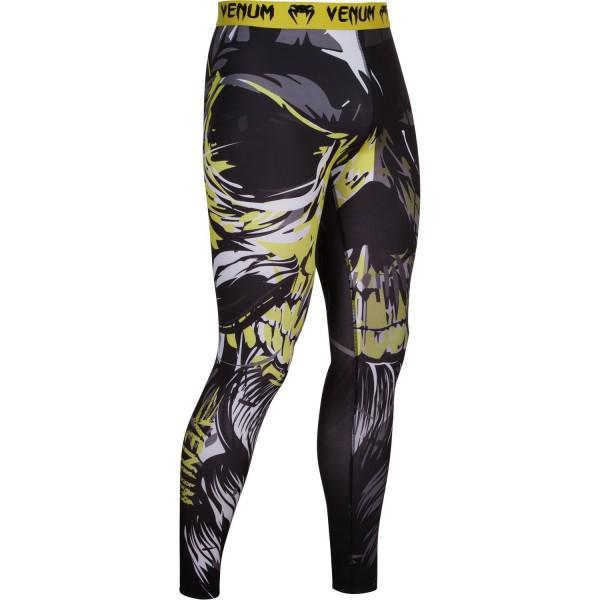 Компрессионные штаны Venum Viking VenumКомпрессионные штаны / шорты<br>Компрессионные штаны Venum Viking. В битве рядом месть и пламя, в сердце - Один и Тор. С этими компрессионками от Venum вы будете думать только о тренировочном процессе, не отвлекаясь на неприятные ощущения в мышцах ног. Предназначены для улучшения кровообращения в мышцах, что, в свою очередь, способствует уменьшению времени на восстановление полной работоспособности мышцы. Прекрасно сидят на любом теле, хорошо тянутся, абсолютно НЕ сковывают движения. Очень приятная на ощупь ткань. Штаны Venum достаточно быстро сохнут. Плоские швы не натирают кожу. Предназначены для занятий самыми различными единоборствами, кроссфитом, фитнесом, железным спортом и т. д. . Уход: Машинная стирка в холодной воде, деликатный отжим, не отбеливать.<br><br>Размер INT: L
