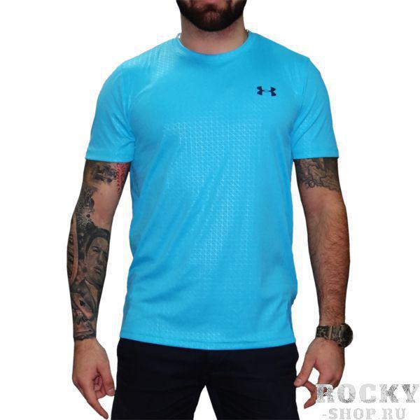 Тренировочная футболка Under Armour HeatGear Under ArmourРашгарды<br>Тренировочная футболка Under Armour HeatGear. Производительность и комфорт! Это основной принцип бренда Under Armour. Футболка отлично сидит на теле. За счёт уникальной высокотехнологичной ткани компрессионная футболка Under Armour HeatGear быстро сохнет, что позволяет использовать его достаточно часто. Благодаря тому, что этот новый материал прекрасно тянется, рашгард никогда не потеряет свою начальную форму. Качественные плоские швы не натирают кожу. Тренировочная футболка Under Armour HeatGear отлично подойдет для тренировок такими видами спорта как: кроссфит, бокс, муай тай, работа с железом и т. д. . Свободный крой. Состав: 100% полиэстер.<br><br>Размер INT: XL