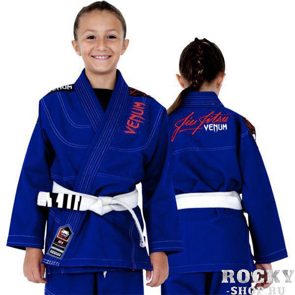 Купить Детское кимоно для БЖЖ Venum Challenger 2.0 синее (арт. 7241)
