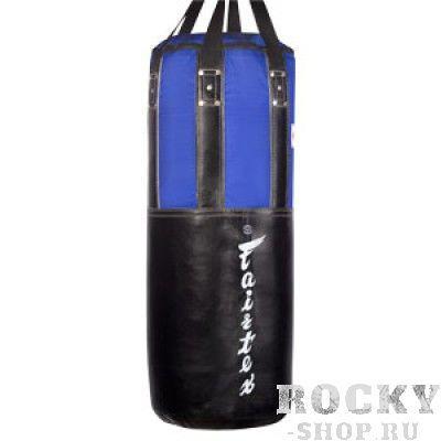 Боксерский мешок с виниловыми вставками Fairtex HB-2, 50 кг FairtexСнаряды для бокса<br>НВ2- это мешок средних размеров предназначен для спортсменов занимающихсябоксом, кикбоксингом. тайским боксом и смешанными единоборствами. Хорошо подходит для отработки техники ударов руками, ногами, коленями и локтями. <br><br>Сшит вручную в Таиланде<br>Вес в районе 50 кг<br>Материал -натуральная кожа и винил<br>Размеры: диаметр - 33см, длина - 90см<br>