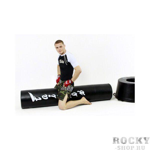 """Боксерский напольный мешок Fairtex, 180 см, 93 кг FairtexСнаряды для бокса<br>HB14 """"MAX BAG"""". УниверсальныйНапольныйМешок для ММА. Предназначен для отработкиударов по всем уровням руками, ногами, коленями и локтями, также подойдет для добиваний в партере иCrossFit. <br><br>сделано в Таиланде, с высоким контролем качества<br>материал - водостойкая искусственная кожа повышенной прочности<br>Высота 180см<br>Диаметр 36см<br>Состоит из двух частей (Станина и Мешок)<br>Вес: Станина - 48кг, Мешок - 45кг<br>"""