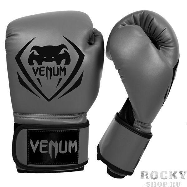 Перчатки боксерские Venum Contender - Grey, 10 oz VenumБоксерские перчатки<br>Боксерские перчатки Venum Contender. Великолепное соотношение цена/качество!Отлично защищают руку! Очень хорошо сидят на руке. Широкая застежка с резинкой, обеспечивает надежную фиксацию перчаток Venum на запястие. Внутренний наполнитель - пена для лучшей амортизации удара. Подходят и для тренировок по боксу, мма, тайскому боксу, работы на мешках, а также для соревнований определённого уровня.<br>
